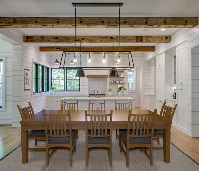 Farm-house-dining-room-table-chairs