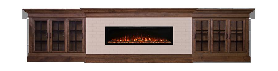 lowboy-mantle-fireplace-wall-3door