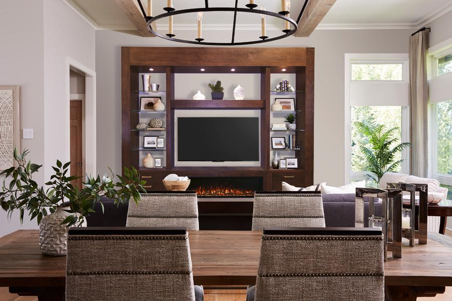 Modern-mediawall-dark-brown-fireplace
