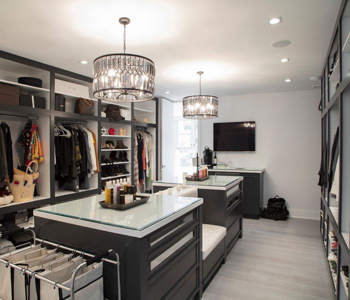 custom-closet-modern-dark-paint-glass-island