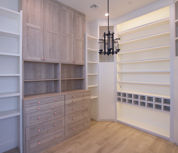 custom-master-closet-cabinets-and shelves-hers