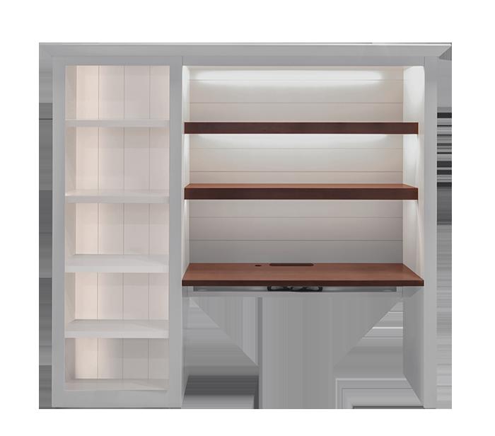 custom-shiplap-student-desk-open-bookcase
