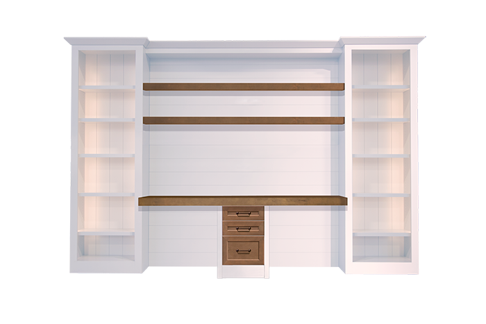 custom-shiplap-wall-desk-white-wood-stain-two-person