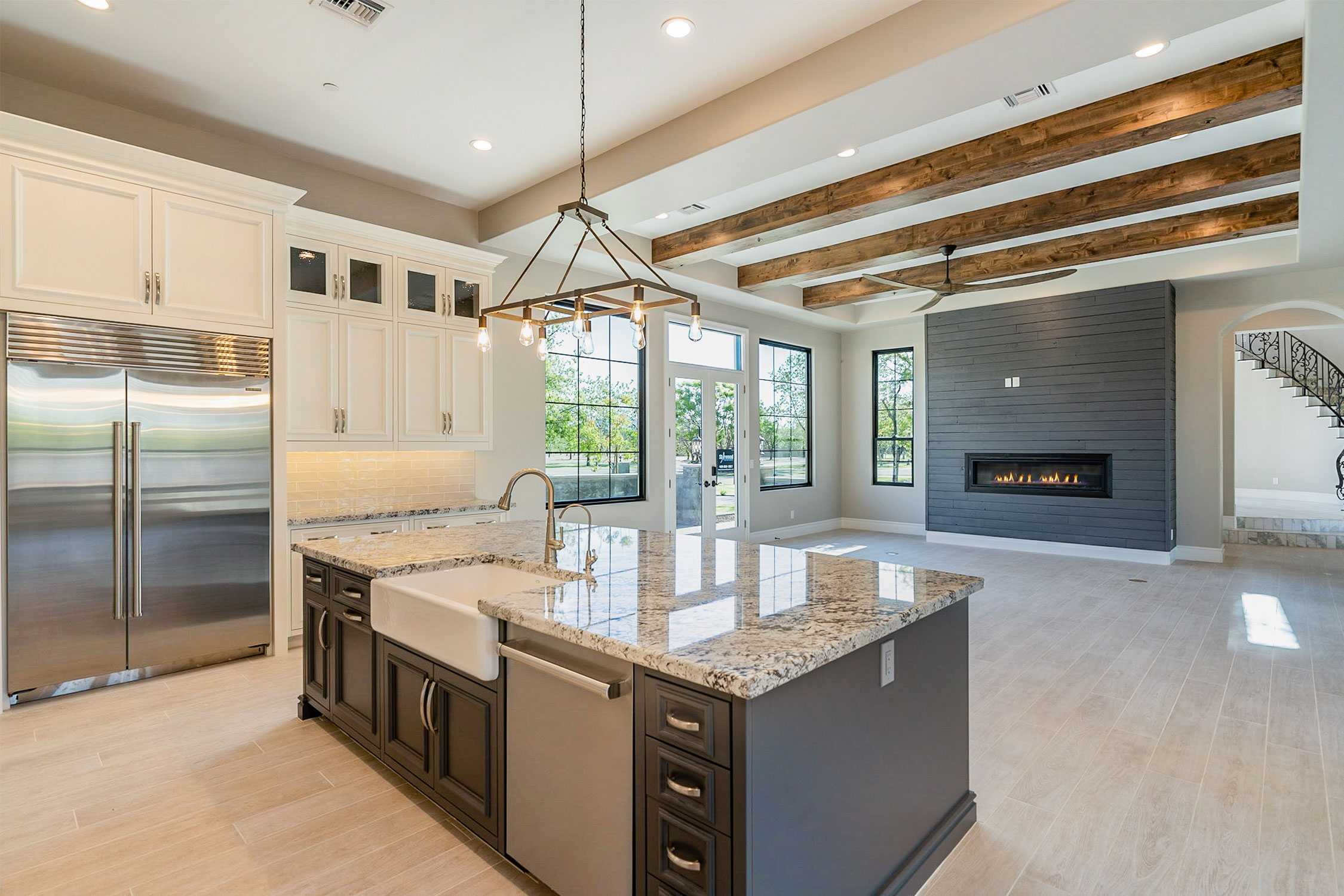 means-custom-kitchen-fireplace