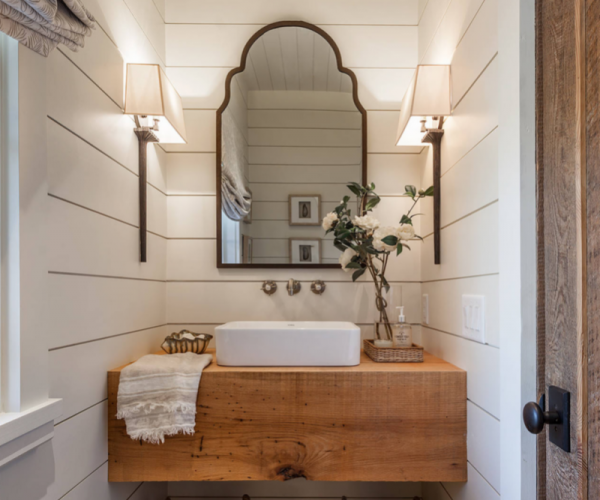 shiplap-bathroom-white-shaker-vanity
