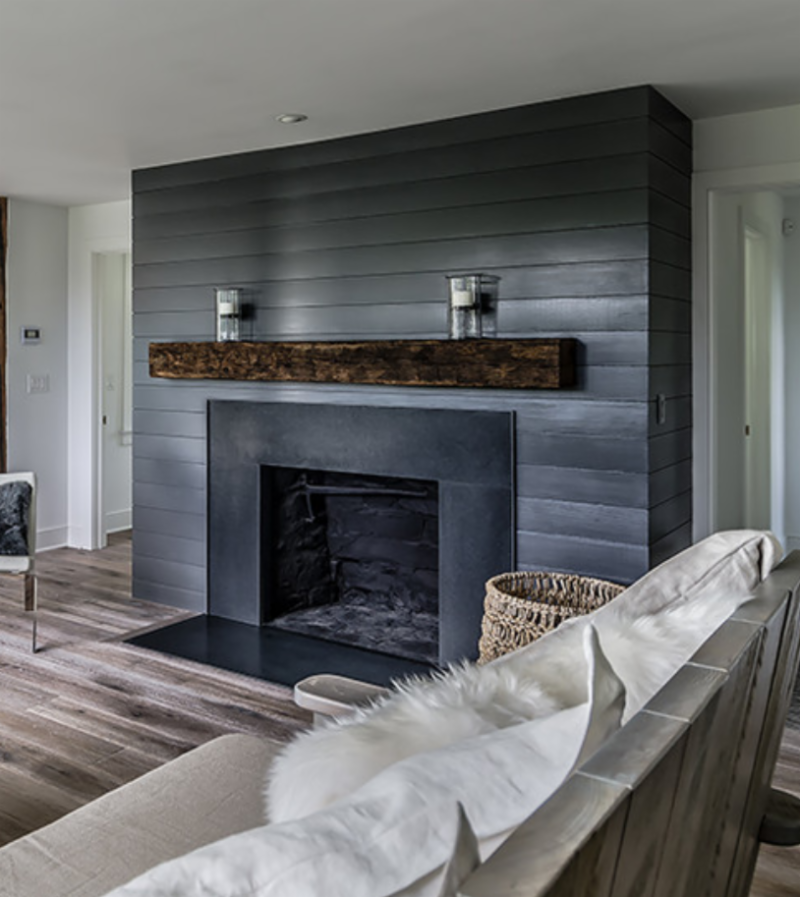 shiplap-fireplace-blue-living-room