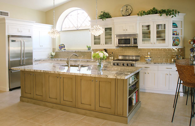 A Clean Canvas With White Kitchen Cabinets